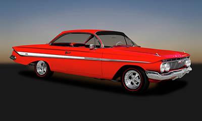 Photograph - 1961 Chevrolet Impala Super Sport Hardtop  -  1961chevroletimpalasshardtop173328 by Frank J Benz