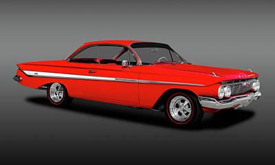 Photograph - 1961 Chevrolet Impala Super Sport Hardtop  -  1961chevyimpalassfa173328 by Frank J Benz
