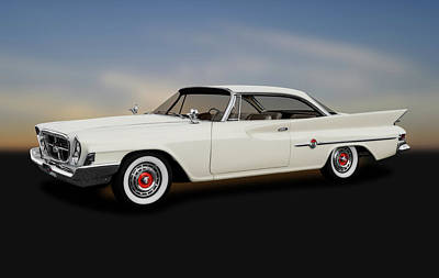 Photograph - 1961 Chrysler 300g Hardtop Coupe  -  1961chrysler300ghardtop184364 by Frank J Benz