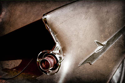 Photograph - 1961 Chrysler Imperial Taillight -0270ac by Jill Reger