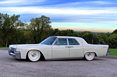 Photograph - 1961 Lincoln Continental by Tim McCullough