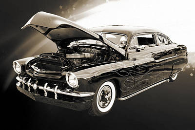 Photograph - 1951 Mercury Classic Car Photograph 003.01 by M K Miller