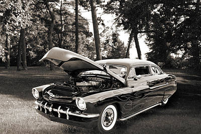 Photograph - 1951 Mercury Classic Car Photograph 006.01 by M K Miller