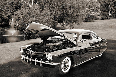 Photograph - 1951 Mercury Classic Car Photograph 007.01 by M K Miller