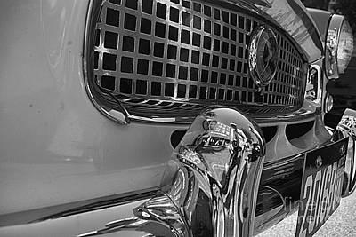 Photograph - 1961 Nash Metropolitan Bw Pov by John S