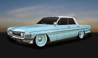 Photograph - 1961 Oldsmobile Dynamic 88 Hardtop  -  1961oldsdyn88 by Frank J Benz
