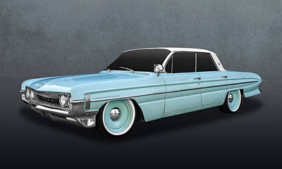 Photograph - 1961 Oldsmobile Dynamic 88 Hardtop  -  61olds88 by Frank J Benz