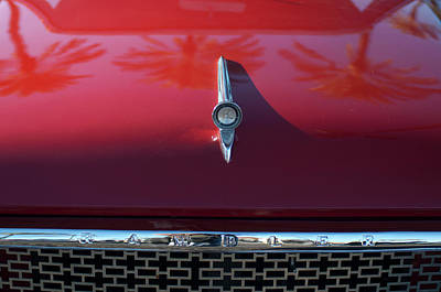 Hoodie Photograph - 1961 Rambler Hood Ornament 2 by Jill Reger