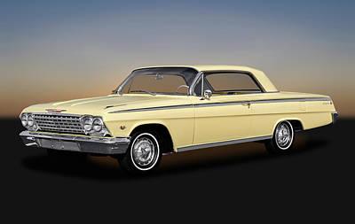 Photograph - 1962 Chevrolet Impala Super Sport 2 Door Hardtop  -  1962chevroletimpalasupersport172070 by Frank J Benz