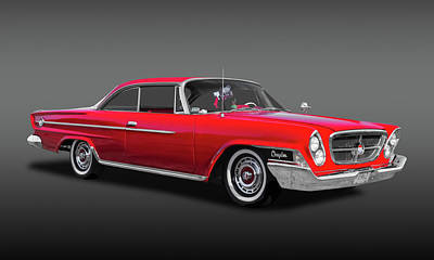 Photograph - 1962 Chrysler 300 2-door Hardtop  -  1962crysfa9622 by Frank J Benz
