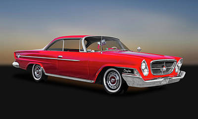Photograph - 1962 Chrysler 300 2-door Hardtop  -  62crys9622 by Frank J Benz