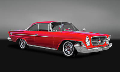 Photograph - 1962 Chrysler 300 2-door Hardtop  -  62crysgry9622 by Frank J Benz