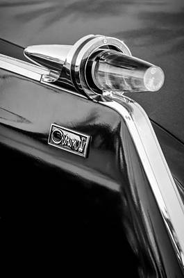 Photograph - 1962 Chrysler Imperial Crown Taillight -0551bw by Jill Reger