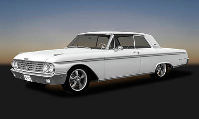 Photograph - 1962 Ford Galaxie 500 2 Door Hardtop  -  1962fordgalaxie500173354 by Frank J Benz
