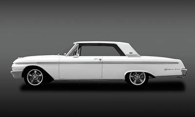 Photograph - 1962 Ford Galaxie 500 2 Door Hardtop  -  1962fordgalaxiefa173358 by Frank J Benz