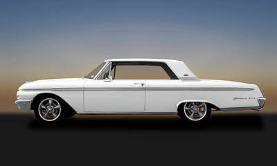Photograph - 1962 Ford Galaxie 500 2 Door Hardtop  -  62fordgalaxie173358 by Frank J Benz