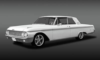 Photograph - 1962 Ford Galaxie 500 2 Door Hardtop  -  62fordgalaxie500fa173354 by Frank J Benz