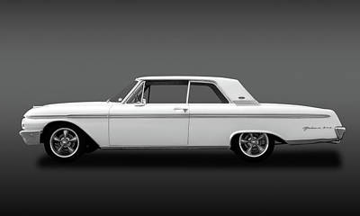 Photograph - 1962 Ford Galaxie 500 2 Door Hardtop  -  62fordgalaxie500fa173358 by Frank J Benz
