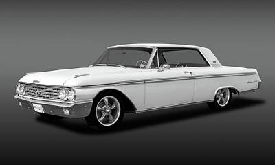 Photograph - 1962 Ford Galaxie 500 2 Door Hardtop  - 62galaxiefordhdtpfa173354 by Frank J Benz