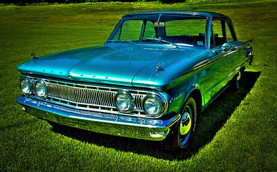 Vehicles Photograph - 1962 Mercury Comet by David Patterson
