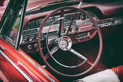 Photograph - 1962 Mercury Monterey by Tim Gainey