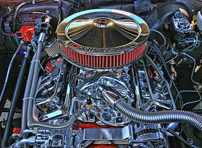 Photograph - 1962 Super Charged Chevy Nova by Allen Beatty