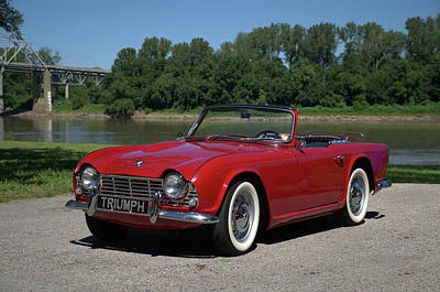 Photograph - 1962 Triumph Tr4 by TeeMack