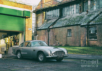 Photograph - 1963 Aston Martin Db5 by Tim Gainey