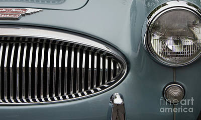Photograph - 1963 Austin Healey 3000 by Rick Bures