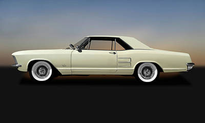Photograph - 1963 Buick Riviera  -  1963buickriviera170813 by Frank J Benz