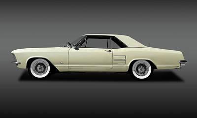 Photograph - 1963 Buick Riviera  -  1963buickrivierafa170813 by Frank J Benz