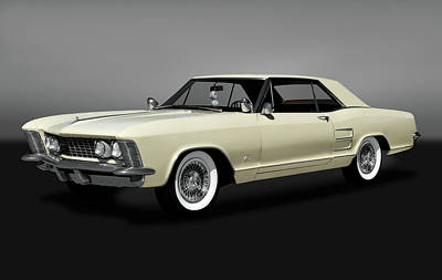 Photograph - 1963 Buick Riviera  -  1963buickrivieragry170799 by Frank J Benz