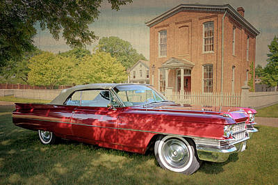 Photograph - 1963 Cadillac De Ville Convertible by Susan Rissi Tregoning