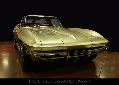Photograph - 1963 Chevrolet Corvette Split Window by Chris Flees