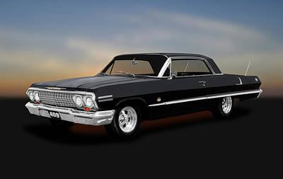 Photograph - 1963 Chevrolet Impala Super Sport  -  1963chevroletimpala409ss184022 by Frank J Benz