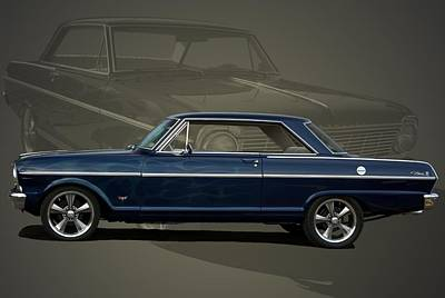Photograph - 1963 Chevy II Nova by Tim McCullough