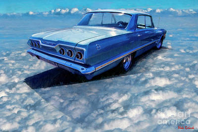 Photograph - 1963 Chevy Impala by Blake Richards