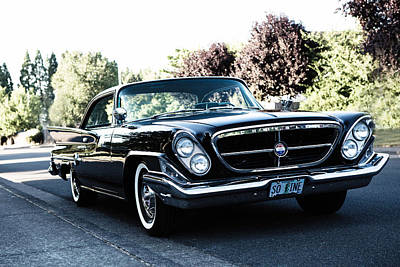 Photograph - 1963 Chrysler by Rebecca Cozart