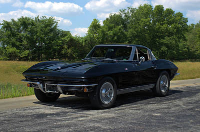 Photograph - 1963 Corvette Stingray by Tim McCullough