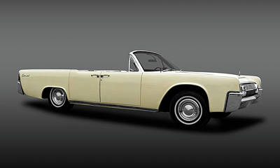 Photograph - 1963 Lincoln Continental Convertible  -  1963continentalconvertiblefa183876 by Frank J Benz