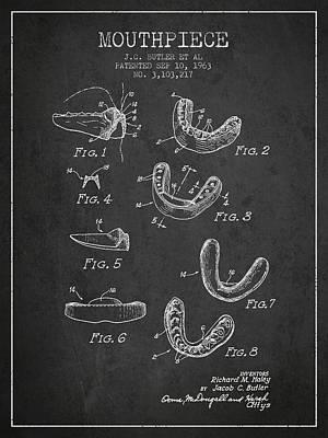 Punching Digital Art - 1963 Mouthpiece Patent Spbx15_cg by Aged Pixel