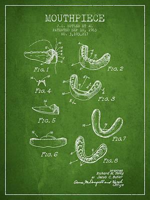 1963 Mouthpiece Patent Spbx15_pg Art Print
