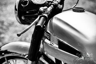 Photograph - 1963 Norton Dominator by Tim Gainey