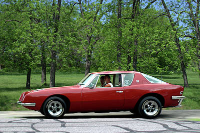 Photograph - 1963 Studebaker Avanti Coupe by Tim McCullough