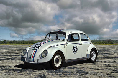Photograph - 1964 Vw Herbie  by Tim McCullough