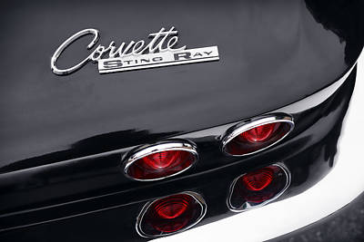 Chrome Bumper Photograph - 1964 Chevrolet Corvette Sting Ray  by Gordon Dean II