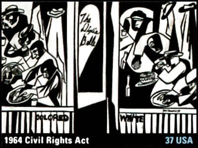 1964 Civil Rights Act Art Print