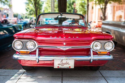 Photograph - 1964 Corvair Spyder by Lynne Jenkins