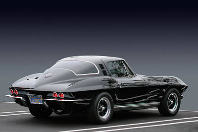 Photograph - 1964 Corvette Coupe by Bill Dutting