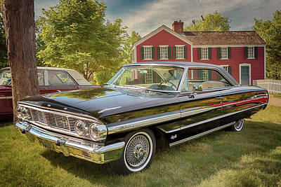 Art Print featuring the photograph 1964 Ford Galaxie 500 Xl by Susan Rissi Tregoning